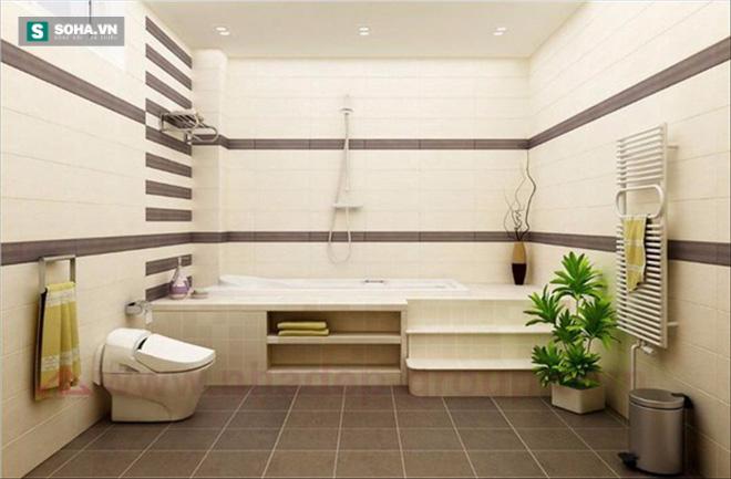 Nhà tắm vô ý đặt đúng hướng hung, gia chủ coi chừng tránh không khỏi họa! - Ảnh 1.
