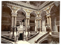 [Opera House staircase, Paris, France] (LOC)