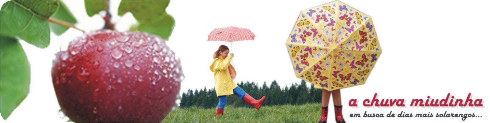 a chuva miudinha