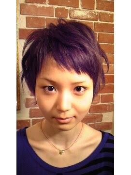 ベリーショート ヘアアレンジ - ヘアスタイル・髪型・ヘアカタログ(ベリーショート)|ホットペッパー