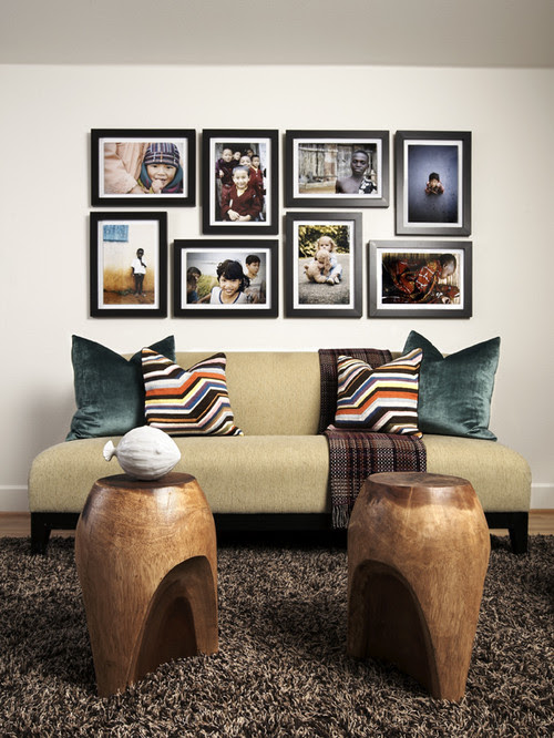 Mid-Century Mod Playroom contemporary family room