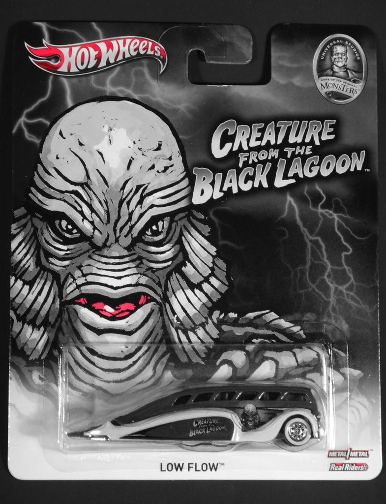 Hot Wheels Universal Monsters 2013 Creature from the Black Lagoon
