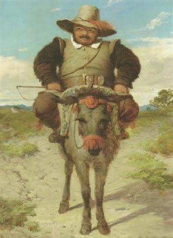 Afbeeldingsresultaat voor sancho panza donkey