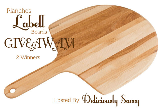 Enter the Planches Labell Boards Giveaway. Ends 10/15