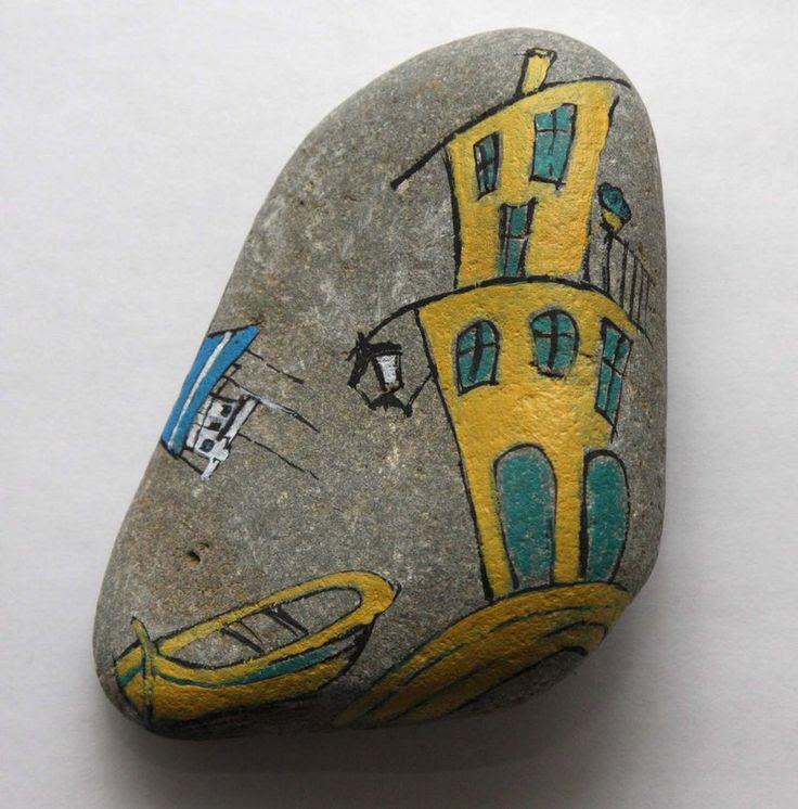 Painting on the stone by laSztuka on deviantART