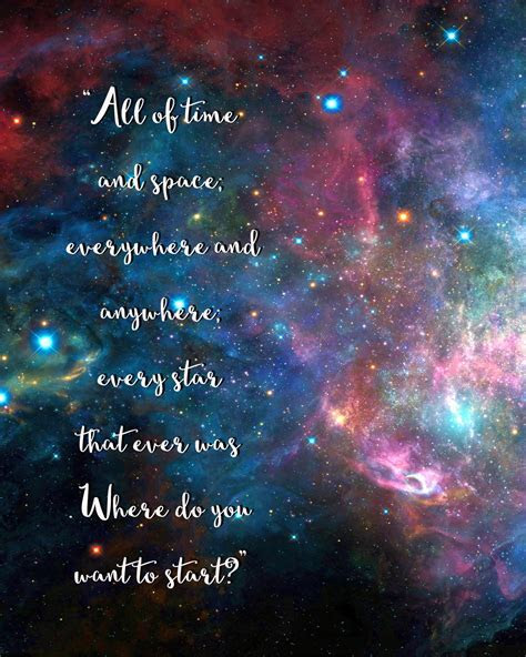 Doctor Who Galaxy Quote Freebie!