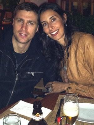 sheilla e o namorado brenno volei (Foto: Arquivo Pessoal)