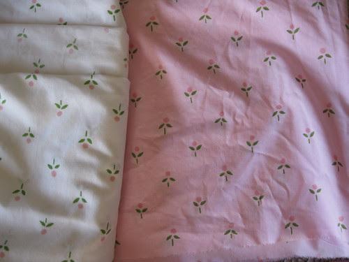 Vintage Sheet Dyed Pink