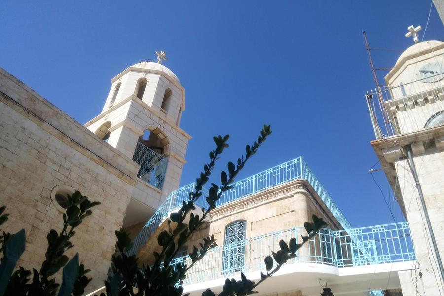 Detalle del Monasterio de Saidnaya (Foto: Pablo Sapag M.)