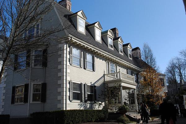 The Albert Goodhue House