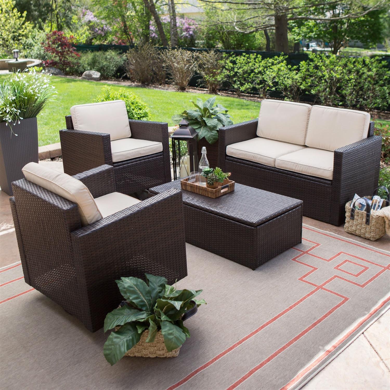 Cheap Garden Supplies Woven Resin Outdoor Furniture