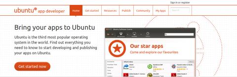 موقع مطوري أوبنتو