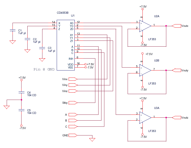 Schematics Of Delabs Sample And Hold With Standby Cd4053