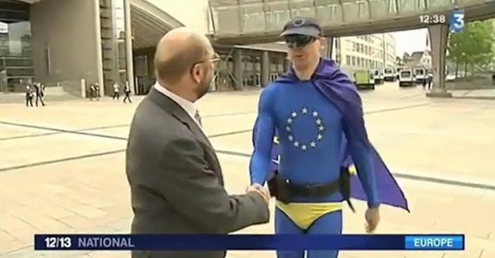 10382429 10152576448337612 1294375672980259578 o Avec l'invention grotesque de « Captain Europe », la propagande européiste prouve qu'elle est aux abois