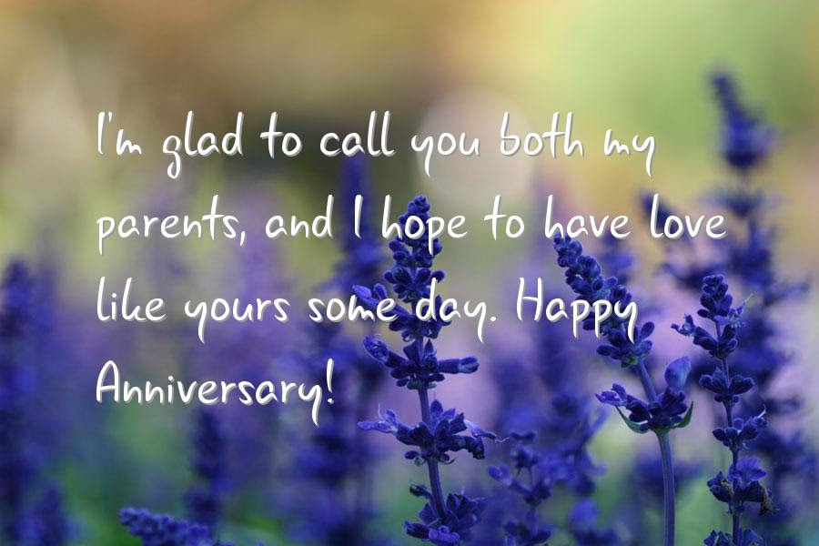 Inspirational Wedding Anniversary Quote For Parents