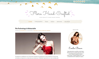 Flora Crafted Blogger Template