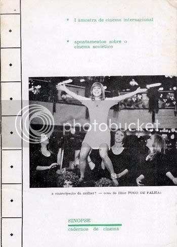 Capa do nº 1 de Sinopse, de Maio de 1974 * Image hosted by Photobucket.com