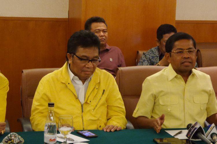 Ketua DPD Partai Golkar Provinsi Sulawesi Tenggara Ridwan Bae di Hotel Sultan Jakarta, Sabtu (22/7/2017).