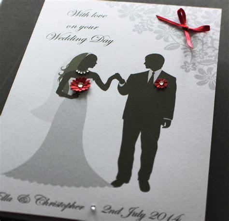 LARGE A5 Handmade Personalised BRIDE & GROOM