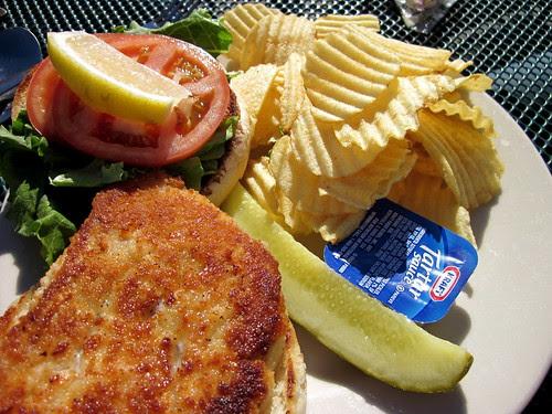 I love a fish sandwich.