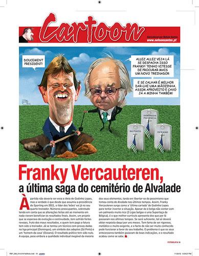 Franky Vercauteren & Godinho Lopes by caricaturas