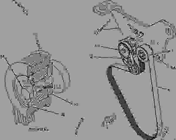 Cat C13 Serpentine Belt Diagram