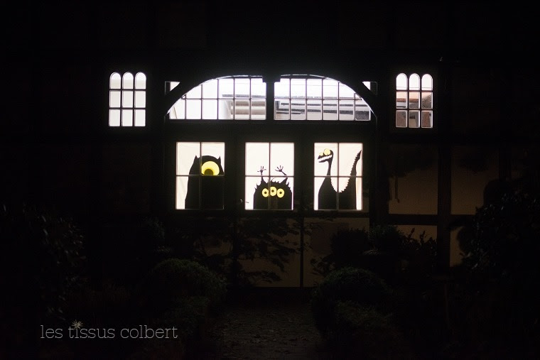 LES TISSUS COLBERT, Halloween Deko selber machen
