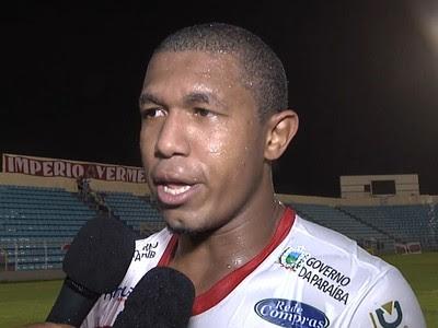 Rodrigão, atacante do Campinense (Foto: Reprodução / TV Mirante)