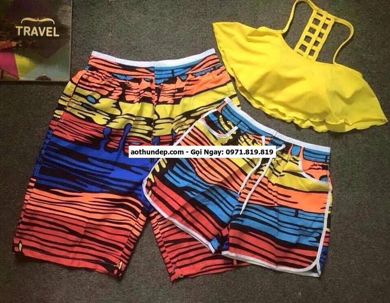 quần đôi đi biển giá rẻ tphcm