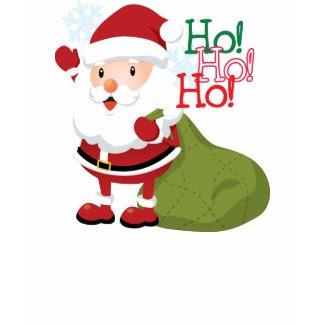 Santa's Ho-Ho-Holiday T-shirt for kids shirt
