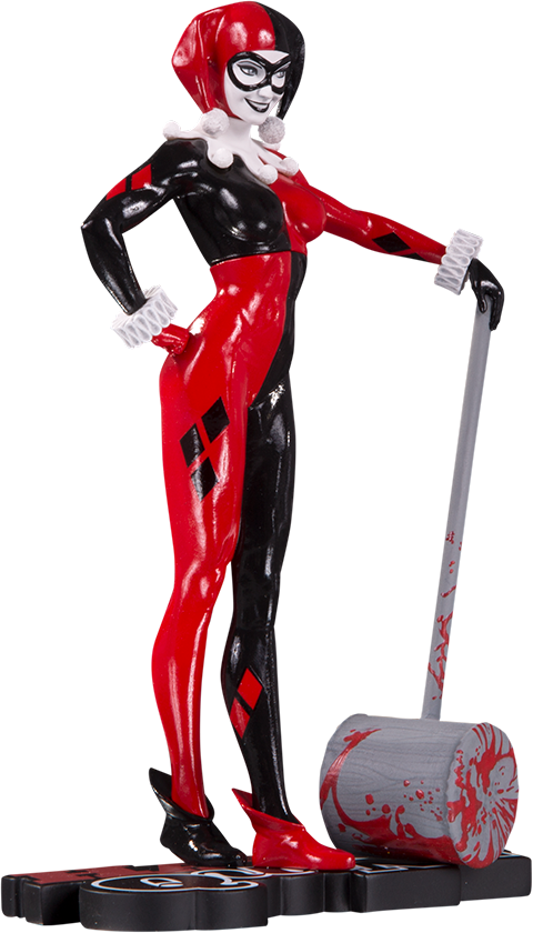 Harley Quinn Red And Black Comic