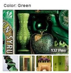 Color: Green pinboard