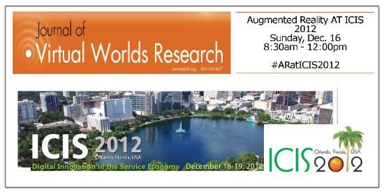 Augmented Reality Workshopt at ICIS 2012