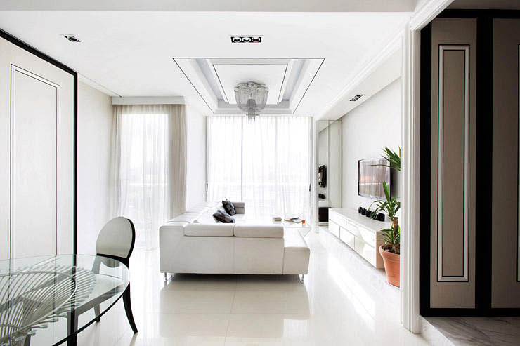 House tour: Minimalist hotel-style interiors to create a ...