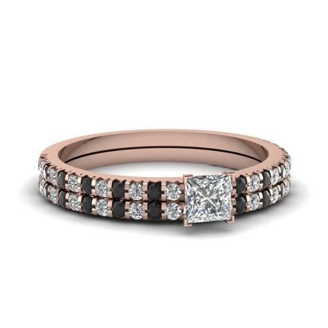Thin Round Diamond Band In 14K Rose Gold   Fascinating