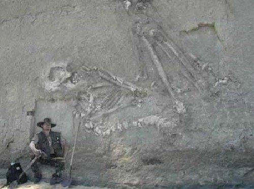 Fotos mostram claramente a evidência da existência de gigantes na Terra (8)