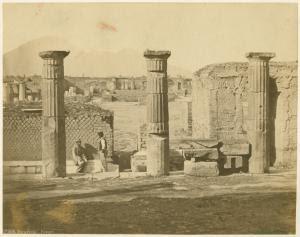 Foro civile, Pompei. Digital ID: 1621127. New York Public Library