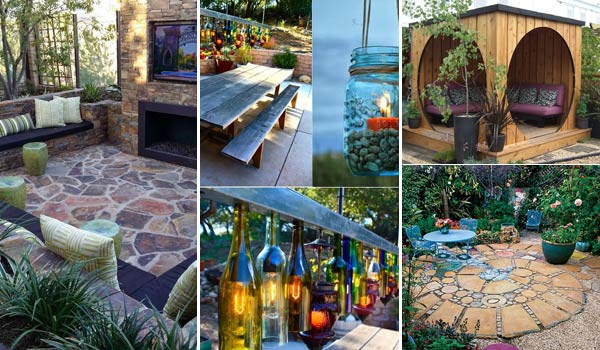 Wow 31 insanely cool ideas to upgrade your patio this for Cool back garden designs
