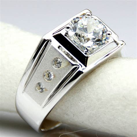 Aliexpress.com : Buy Diamond Men Ring Center 2 Carat