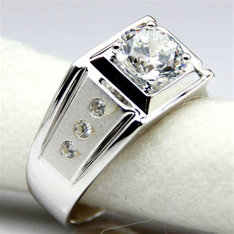 Aliexpress.com : Buy Diamond Men Ring Center 2 Carat