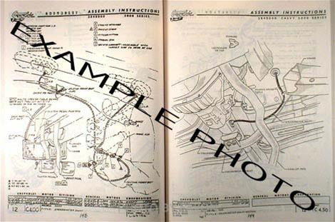 1982 Camaro Factory Assembly Manual 82 Includes Berlinetta And Z28 Chevy Ebay