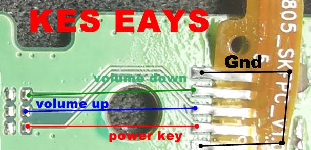Huawei Y600-U20 Volume Up Down Keys Not Working Problem Solution Jumpers
