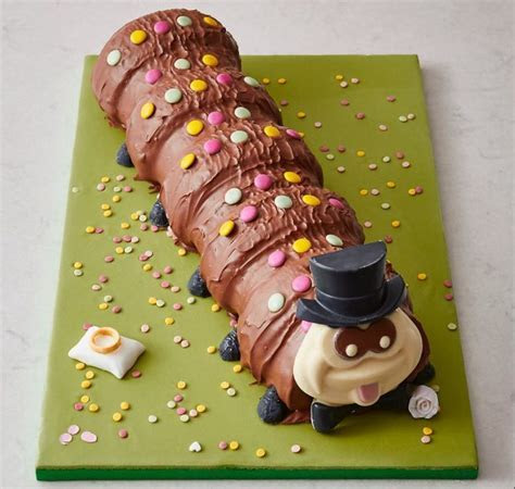 Colin the Caterpillar is getting married and I'm still