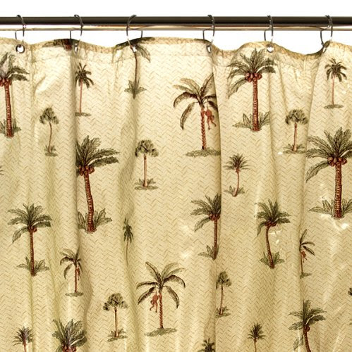 Palm Tree Shower Curtain - Furniture, bedding, electronics ...