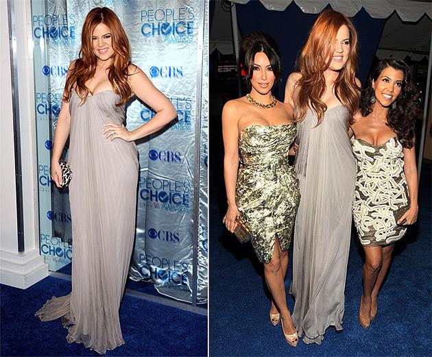red hair khloe kardashian