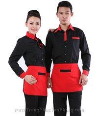 đồng phục nhà hàng may sẵn,