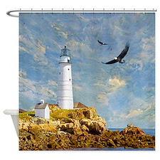 Nautical Shower Curtains | Nautical Fabric Shower Curtains - CafePress