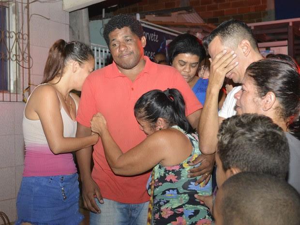 Adalmo Motta pai das duas crianças de 3 e 6 anos mortas pela mãe no Espírito Santo (Foto: Edson Chagas/A Gazeta)
