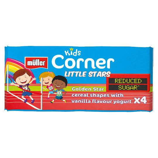 Muller Corner Kids Seasonal 4 Pack (4X135g)