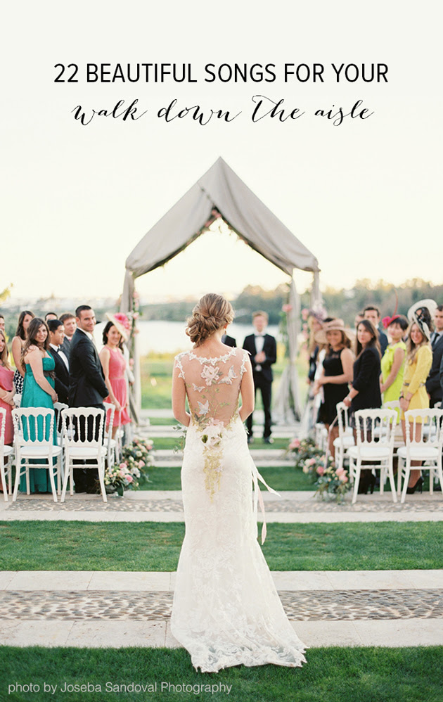The Most Romantic Wedding Songs Of All Time Wedding Song Down Aisle